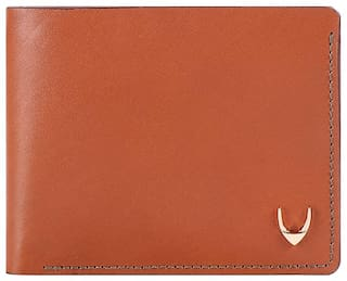 Hidesign Men Tan Leather Bi-Fold Wallet ( Pack of 1 )