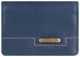 Hidesign Men Blue Leather Bi-Fold Wallet ( Pack of 1 )