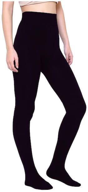 High Quality Black  High Waist  Super Soft Sheer Stockings  For Girl & Women