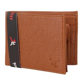 Highlark Men Tan Synthetic leather Bi-Fold Wallet ( Pack of 1 )