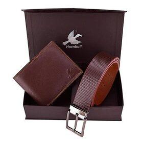 Hornbull Brown Belt With Combo