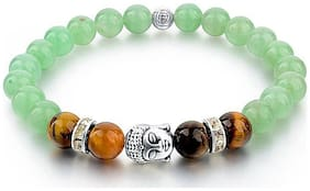 Hot And Bold Men Metal Bracelets - Green