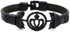 Hot And Bold Men Genuine Leather Bracelets - Multi