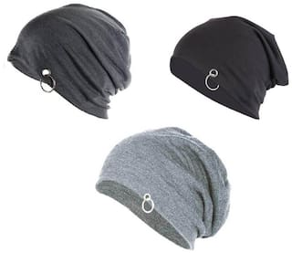 Buy HOZIE Cool Look Beanies Grey cd8ad980581