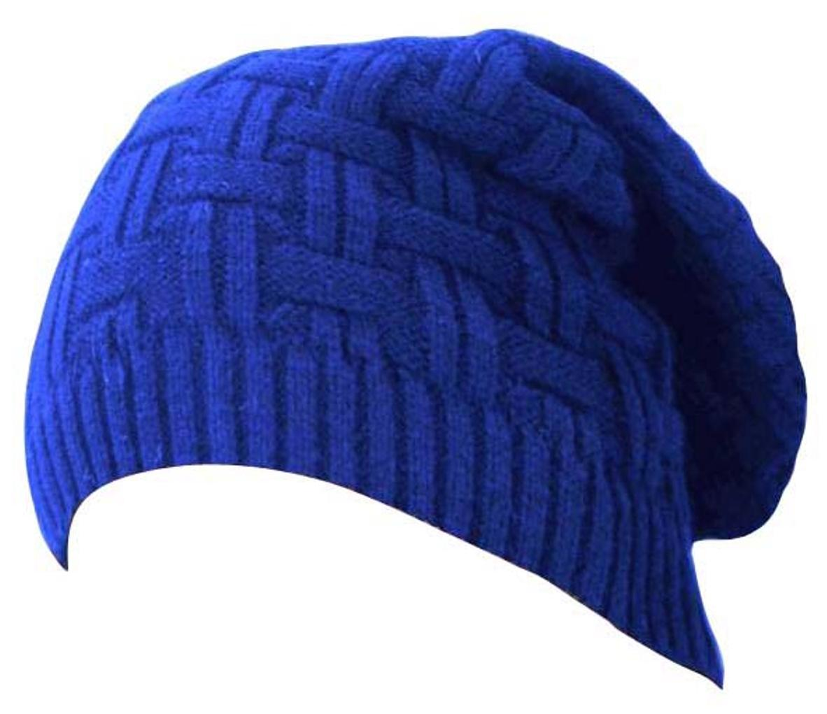 4ea74862fb1 Buy HOZIE Stylish Looks Blue Slouchy woolen Long Beanie Cap Online at Low  Prices in India - Paytmmall.com