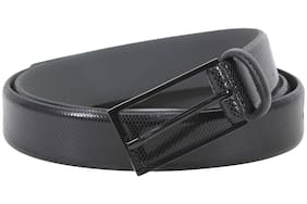Hugo Boss Men's Gary-P Genuine Textured Leather Belt