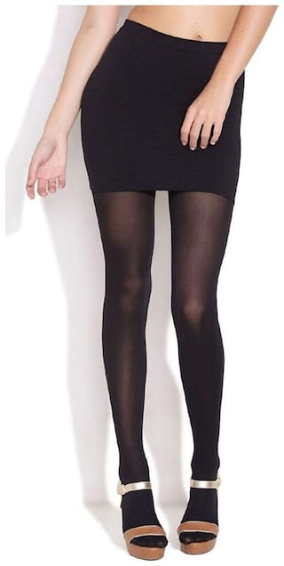 3dacceb103 I Shop Girls & Women Black Color Stocking Pack of 1