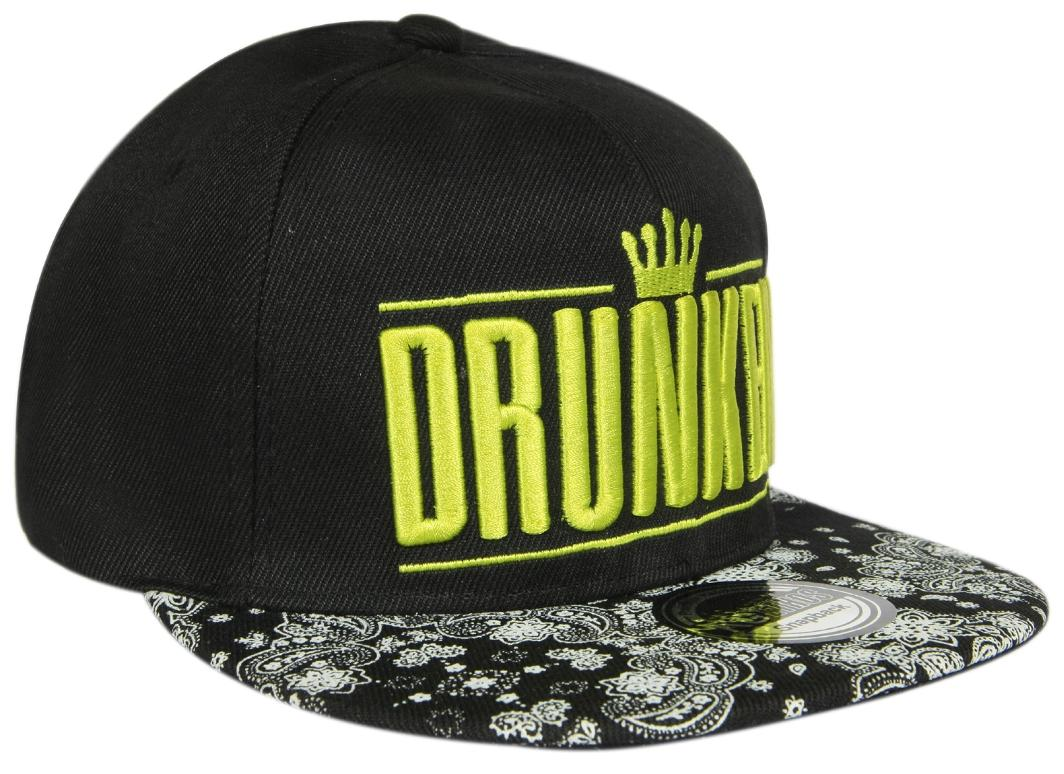 a25d9d65360 Buy Ilu Black Cotton 3d Drunken Snapback Cap Hiphop Cap Baseball Caps For  Man Women Girls Boys Men Woman Caps Online at Low Prices in India -  Paytmmall.com