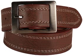 Imperior Dark Brown PU Belt