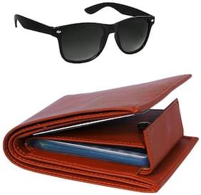 Imperior Men Tan Leather Bi-Fold Wallet ( Pack of 1 )