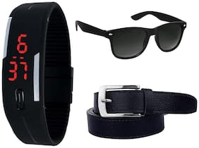 IMPERIOR PU Watch/Sun Glasses/Belt  For Men