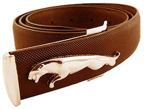 Imperior Stylish Jaguar Design Stylish Tan Color Belt For Men