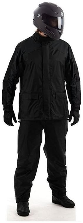 Ination Trandee Polyester Complete Raincoat With Pent And Carry Bag
