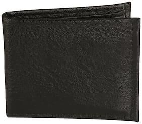 Jack Klein Black Leatherette Wallet For Men