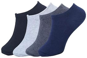 JARS Collections Multi Cotton Ankle length socks ( 4 pairs )