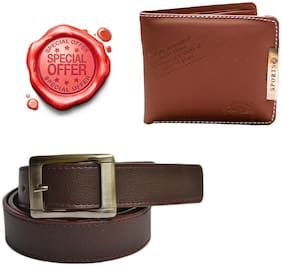 JARS Collections Combo of Wallet and Belt