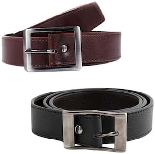 JARS Collections Combo of Brown and Black Belt