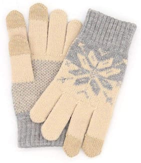 JARS Collections Men Wool Glove - Beige