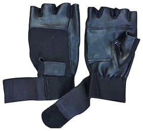 JARS Collections Men Leather Glove - Blue