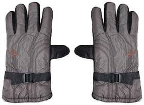 JARS Collections Men Leather Glove - Grey