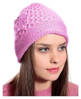JARS Collections Wool Caps - Pink