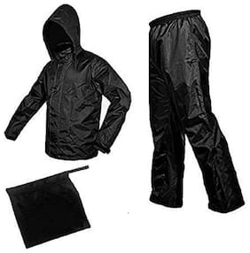 JARS Collections Unisex Nylon Assorted Rain Suit ( L , Pack of 2 )