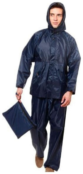 JARS Collections Complete Rain Suit with carry bag For Men