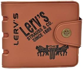 Jim-Dandy Brown Lerv's Wallet For Mens (LRV-B2)