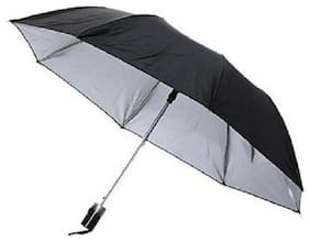 Jim-Dandy Unisex 2 Fold Black Umbrella