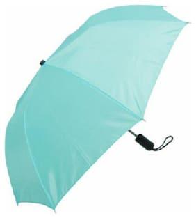 Jim-Dandy Unisex 2 Fold Blue Umbrella