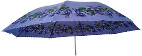 JMO27Deals  Colorful Printed Windproof Umbrella with Sun Protection Lightweight for Travel Use And for All Age Group