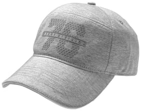 Jockey Cotton Grey Men Cap