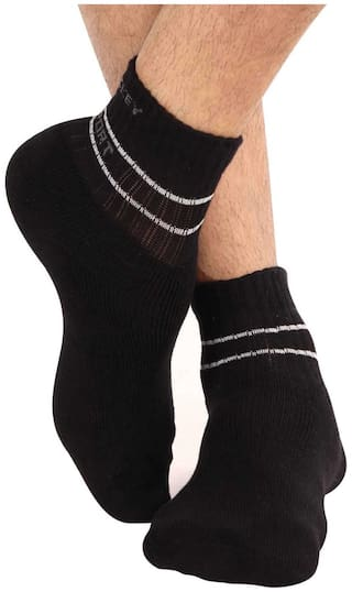 Jockey Assorted Cotton Ankle length socks ( Pack of 3 )
