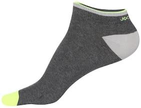 Men Ankle Length Socks Pack of 1 ( Grey )
