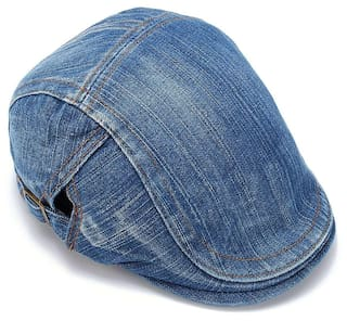c72248a44cd Buy Jubination Boy s Blue Denim Golf Cap Online at Low Prices in ...