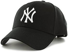 Men Cotton Cap ( Black )
