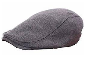 Jubination Grey Golf Cap/devanand Style Cap For Boys
