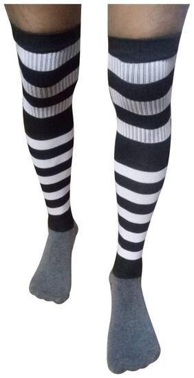 Men Thigh High Socks Pack of 1 ( Multi )