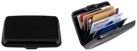 Kailasa Men Fabric Card holder - Black