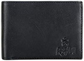 kain Black Men's Bi-Fold Wallet (KW006B)...