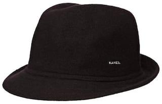 Buy Kangol Men s Cap Black Medium Online at Low Prices in India ... fa763b9d48b