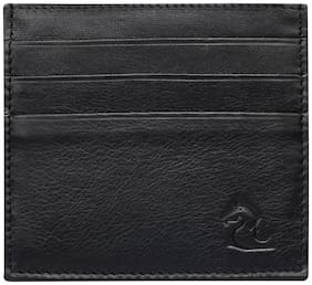 Kara Black Color Genuine Leather Card Holder