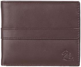 Kara Men Brown Pu Bi-Fold Wallet ( Pack of 1 )