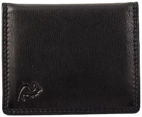 Kara Men Leather Card holder - Black