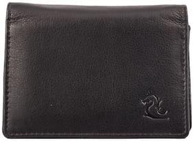 Kara Men Leather Card holder - Black
