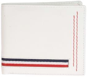Khadim's White Single-fold Wallet