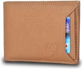 KKRISH Men Tan Pu Bi-Fold Wallet ( Pack of 1 )