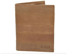 Knott Brown Exclusive Leather Wallet for Men