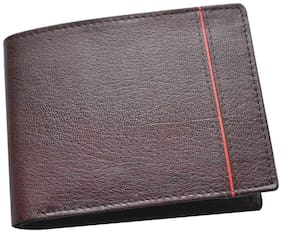 Knott Brown/Tan Trendy Leather Wallet for Men