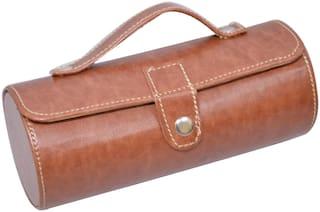 Knott Exclusive Round Tan 3 Pillow Watch case